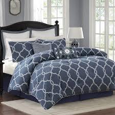 California King Bed Comforter Sets Griffin Denim Blue Bed Comforter Set Home Apparel