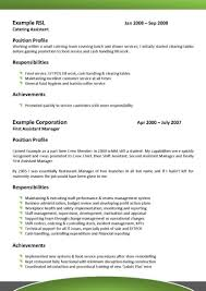 Canadian Resume Samples Pdf by 100 Hotel Front Office Resume Catering Cv Templates Hospitality