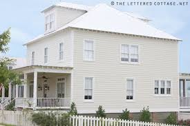 paint color the lettered cottage