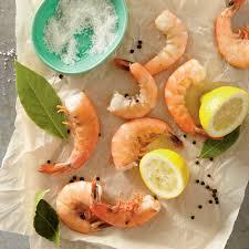 perfect poached shrimp recipe myrecipes