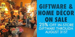 Home Decor On Sale Home Decor U0026 Giftware Sale Winfield Florist