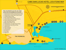 map of mexico resorts cabo san lucas hotels and resorts where to stay in cabo san