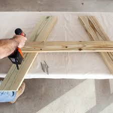 Plans For Wooden Picnic Tables by Picnic Table Plans How To Build A Picnic Table