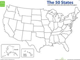 blank united states map with states and capitals studying state capitals worksheets 5th grade education