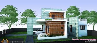 contemporary house plan by ar mini murali kerala home design