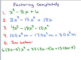 factoring by grouping part 1 help video in high math