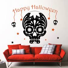 online get cheap skull wall decals aliexpress com alibaba group