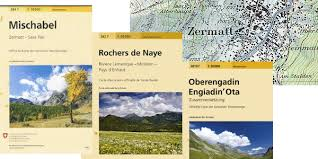 paper maps the maps you need to hike in the swiss alps