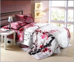 catherine mcdonald japanese cherry blossom duvet cover cotton twin