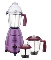 Morphy Richards Plum Kitchen Accessories Morphy Richards Icon Royal Sapphire 600w 600 W 3 Jar Mixer Grinder