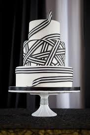black and white striped ribbon striped wedding black white striped ribbon cake photo 2069718