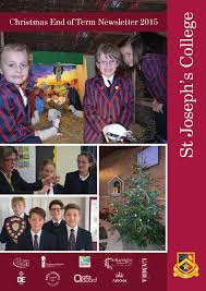 st joseph u0027s college christmas end of term newsletter 2015 by st