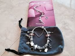 pandora bead charm necklace images Pandora bracelet with charms requested video jpg