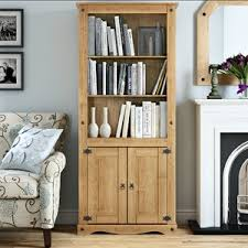 Bookcase With Doors Bookcases With Doors Wayfair Co Uk