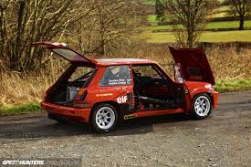 renault hatchback from the 1980s five alive the volcanic hatch speedhunters
