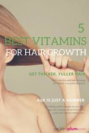 What Vitamin Is Good For Hair Loss 5 Best Vitamins For Hair Growth Pickled Plum Food And Drinks