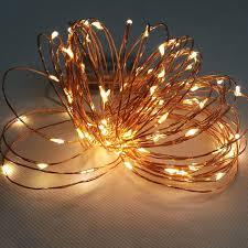 10pcs copper wire led string lights battery powered 2m 20leds led