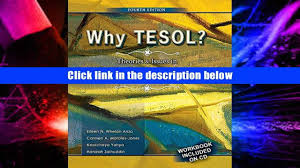 favorite book why tesol theories and issues in teaching english