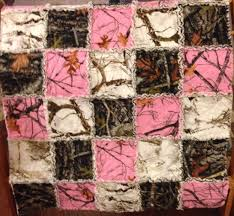 girls camouflage bedding pink camo rag quilt my quilts pinterest rag quilt pink camo