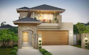 narrow home designs stunning 2 storey home designs perth images decorating design