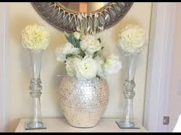 Bling Wrap For Vases Glam Vase Diy U0026 Kissing Ball Dollar Tree Youtube