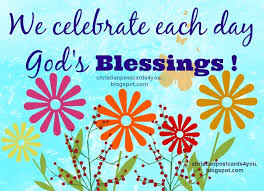 blessing cards god s blessings each day for you christian cards for you