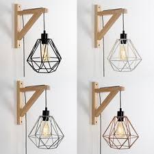vintage wooden wall wooden wall lights ebay