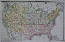 Enlarged Map Of The United States by Map Collections