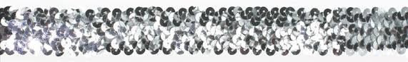 sequin ribbon silver coloured sequin ribbon culpitt