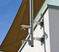 sonnensegel befestigung balkon technik sonnensegel befestigung komplette übersicht pina design