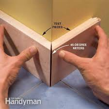 how to cut angles in front corners of hair cutting moulding angles in bed how to install crown molding
