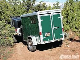 jeep wrangler cargo trailer 1109 4wd 10 2008 jeep unlimited rubicon jk and trailer rear