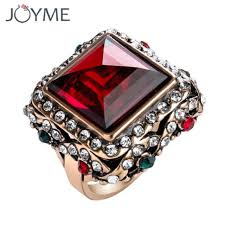 antique gold rings images Fashion turkish jewelry vintage cut engagement rings gem stone jpg