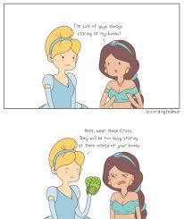 Cinderella Meme - cinderella helps jasmine with her lady problem by accordingtodevin