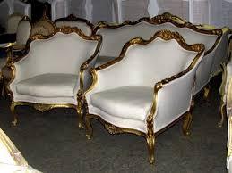 ebay canapé early 20th c ornately gilt rococo settee sofa canapé