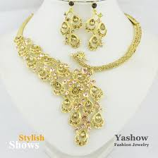 wedding gold set gold jewelry sets for bridesmaids andino jewellery
