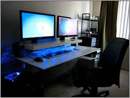 computer desk for dual monitors computer armoire for two monitors type yvotube