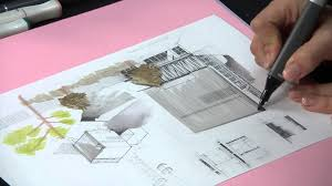 alpha markers 8 architectural drawing youtube