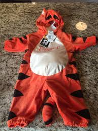 halloween 3 6 months disney baby tigger infant halloween costume size 3 6 months bnwt