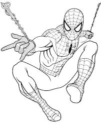 spiderman coloring books 1 print color free