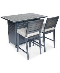Outdoor Bar Table And Stools Closeout Marlough Outdoor Bar Collection Created For Macy U0027s