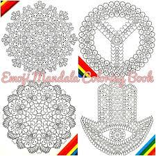 emoji mandala coloring book majestic coloring colour claire