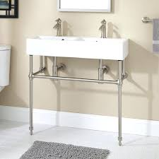 Bathroom Console Sinks Wood Console Bathroom Sink Four Legs 4 Console Sink With 4