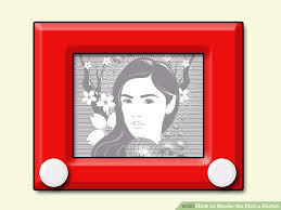how to master the etch a sketch 9 steps with pictures wikihow