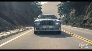 New Bentley Mulsanne Revealed Ahead Of Geneva 2016 New Bentley Mulsanne To Debut At Geneva Auto Show Car News Auto123