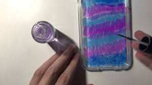 how to seal sharpie on an iphone case using clear nail polish