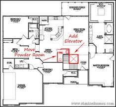 home plans with elevators ranch house plans with elevator modern hd