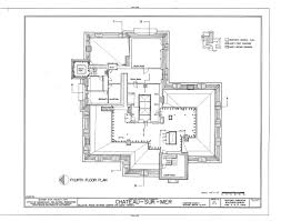 chateau floor plans chateau sur mer section a architectural floor plans