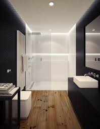Wood Floor Bathroom Ideas Wooden Floor In 20 Bathroom Designs Rilane