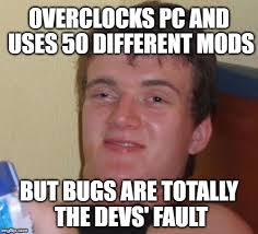 Hardcore Memes - 10 guy hardcore gamer imgflip